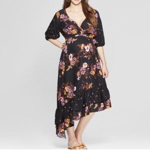 NWT Isabel Floral Maternity Dress
